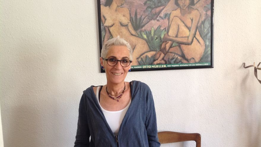 Cristina Garaizabal, activista feminista y cofundadora de Hetaira / M.B