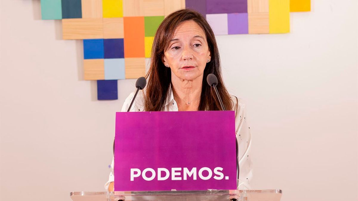 La diputada de Podemos María Márquez.
