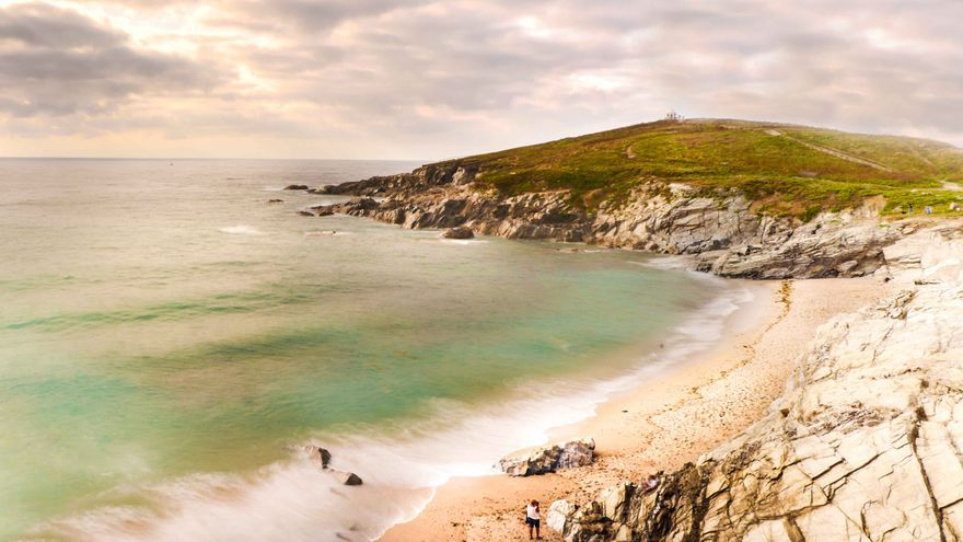 La costa de Cornualles.
