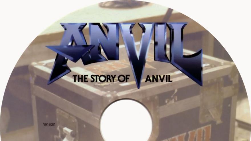 Portada de The story of Anvil.