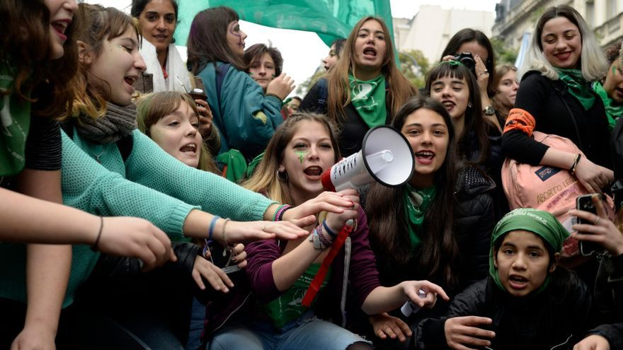 Manifestaciones a favor del aborto / Gala Abramovich