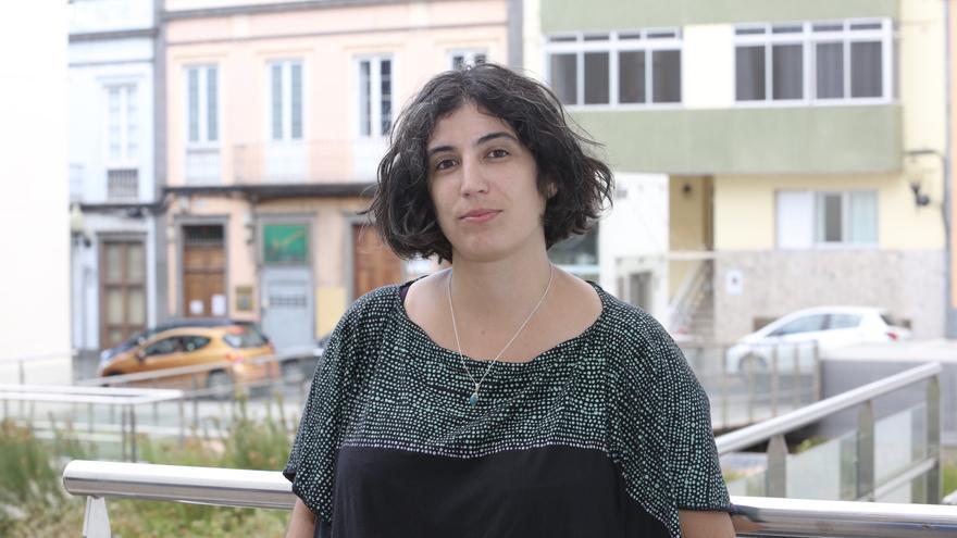 La investigadora Nerea Barjola, autora del libro 'Microfísica sexista del poder: El caso Alcàsser y la construcción del terror sexual'.
