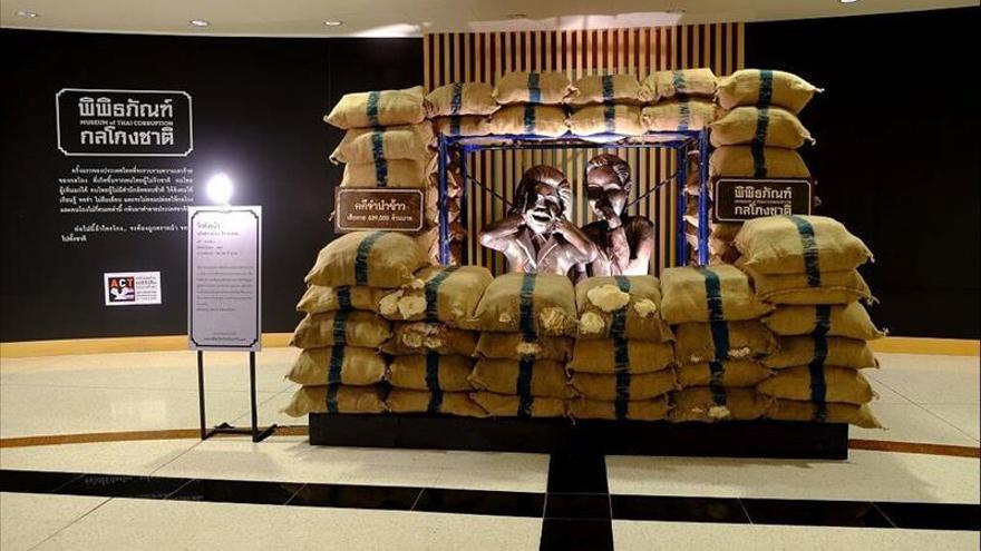 Corrupción con mucho arte en Tailandia