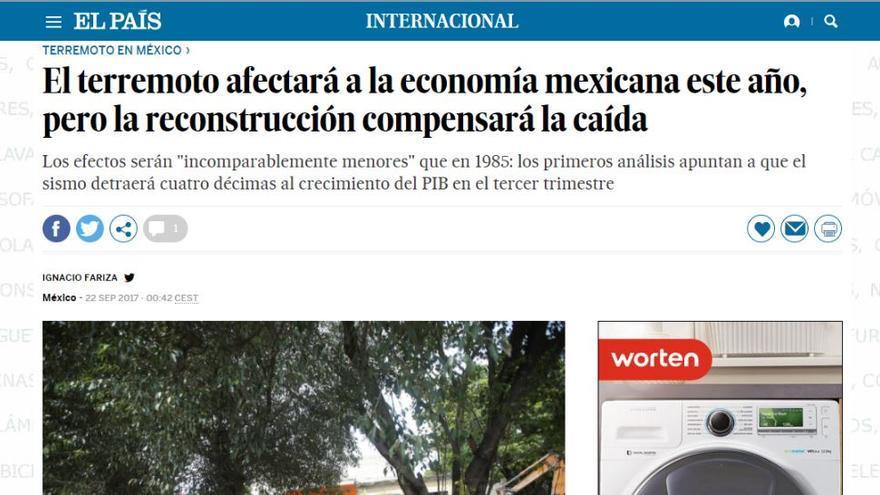 El País Terremotos