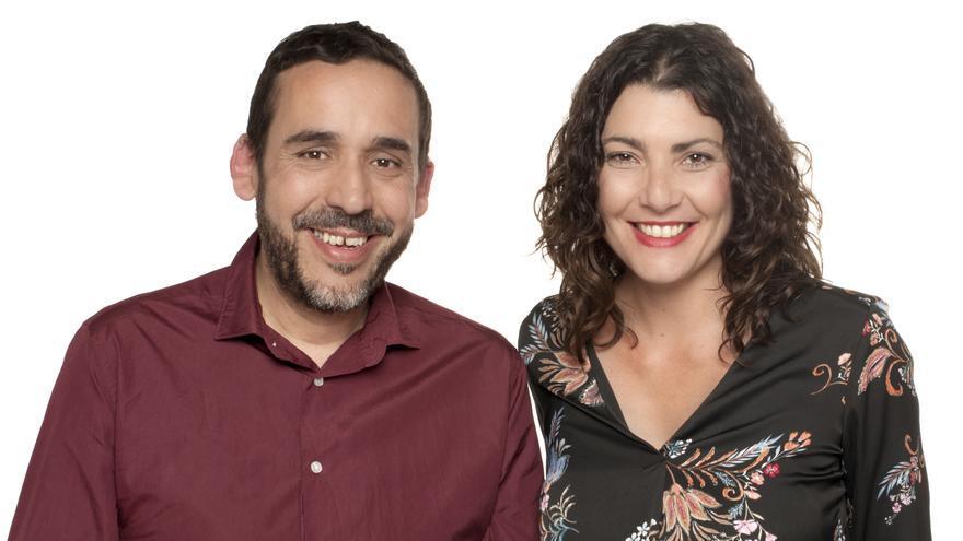 Rubens Ascanio y María José Roca, primero y segundo en la plancha de Unidas Se Puede para La Laguna