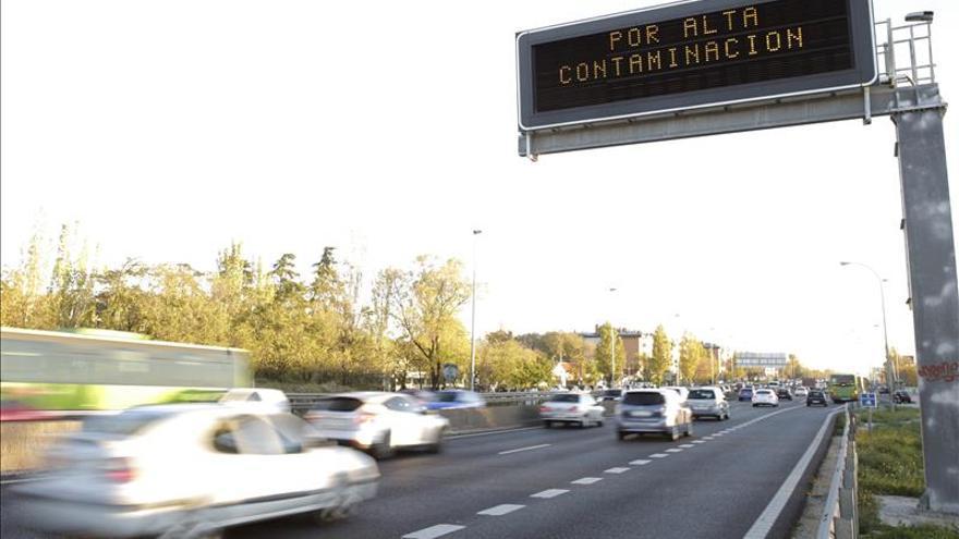 El Ayuntamiento de Madrid recomienda circular a 70 km/h en la M-30 y en los accesos a la capital