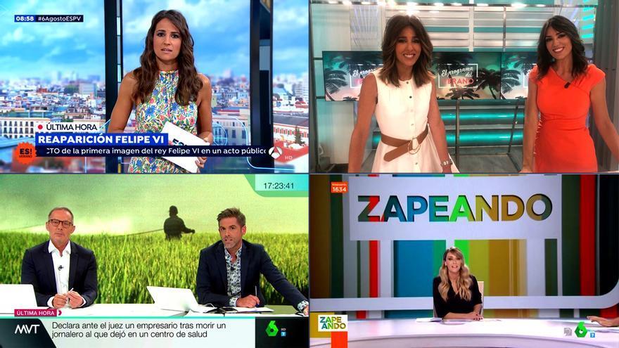 Los presentadores de este verano en TV