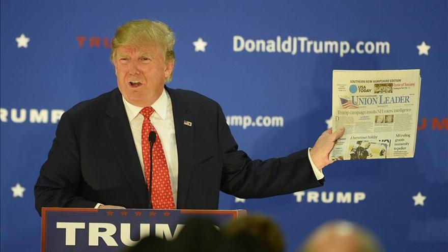 Resultado de imagen para the guardian ataques de trump a la prensa