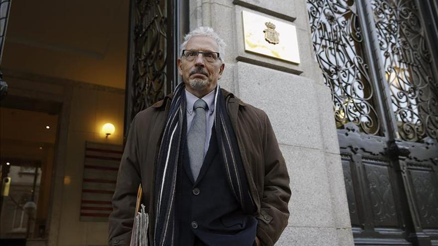 El exjuez Santiago Vidal, en una imagen de archivo en el CGPJ