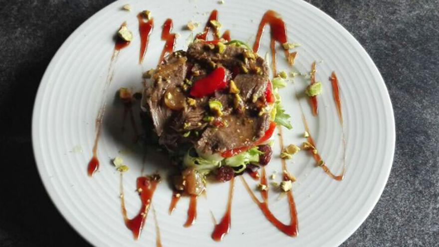 'Primavera de Ciervo', el plato que presenta el Bar Oasis