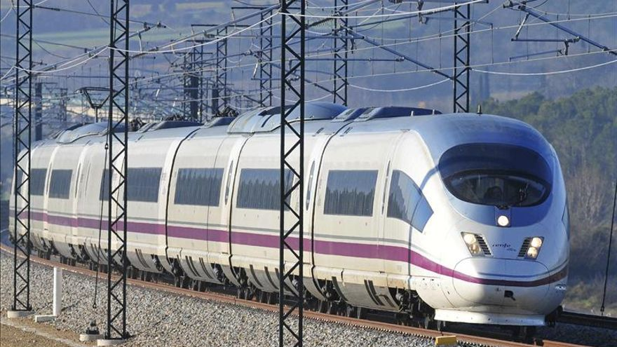 Restablecida la línea del AVE Zaragoza-Lleida por las dos vías en Ballobar