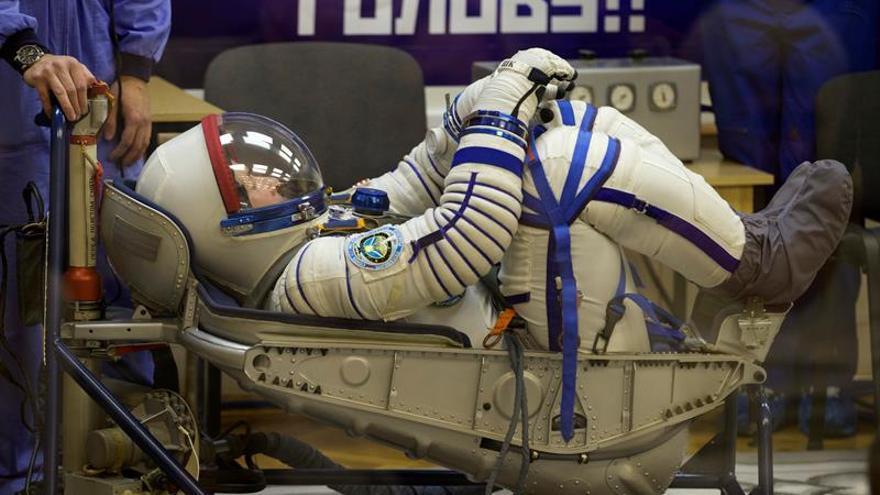 La nave tripulada rusa Soyuz MS-02 despega rumbo a la EEI