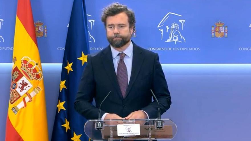 """Vox abandona la Comisión de la Reconstrucción y marca una """"distancia infinita"""" con el Gobierno"""