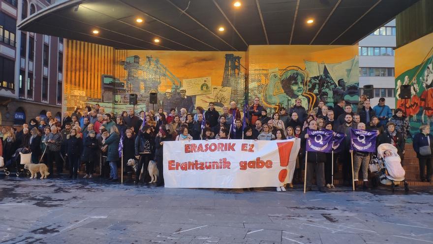 Vecinos de Barakaldo (Bizkaia) denuncian la agresión sexual a una mujer el pasado lunes