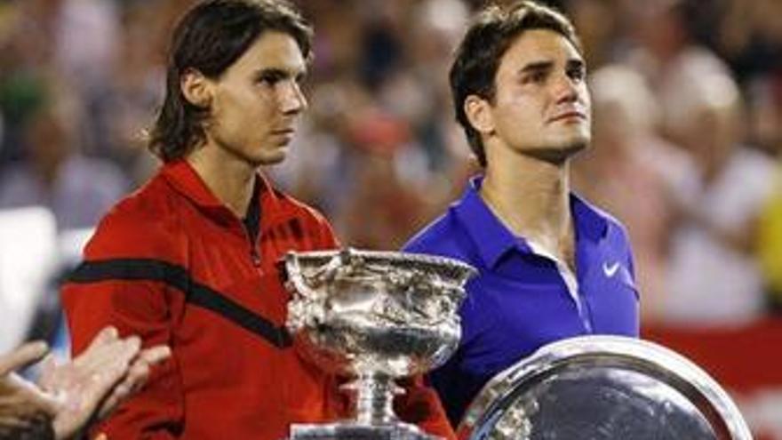 Federer y Nadal mantienen las distancias en el ranking de la ATP y Djokovic se acerca a Murray
