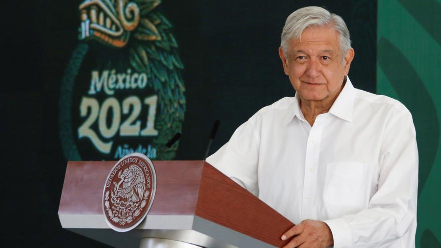 """""""México no está entre países con más gravedad por pandemia"""", dice presidente"""