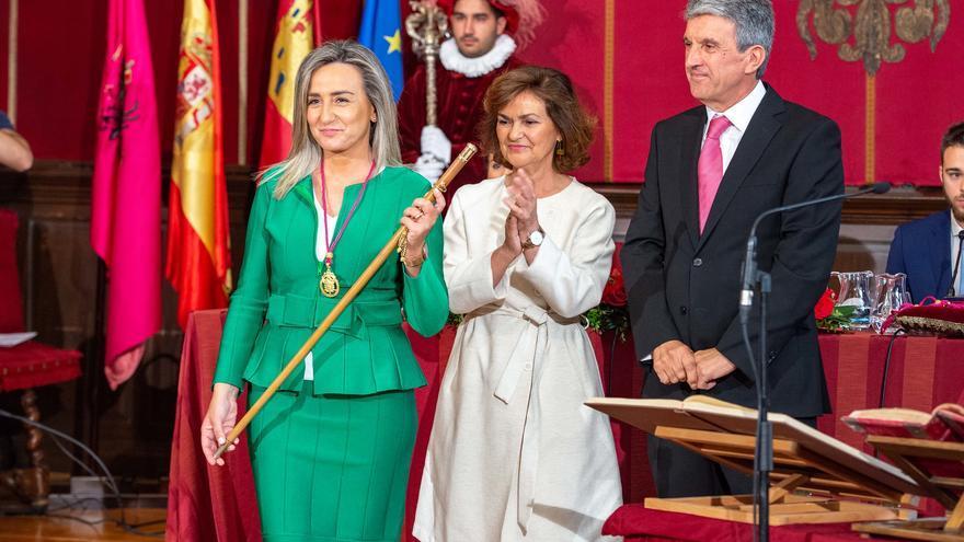 Milagros Tolón FOTO: Ayuntamiento de Toledo