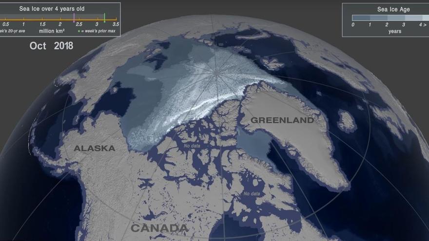 Último bastión de hielo en el Ártico
