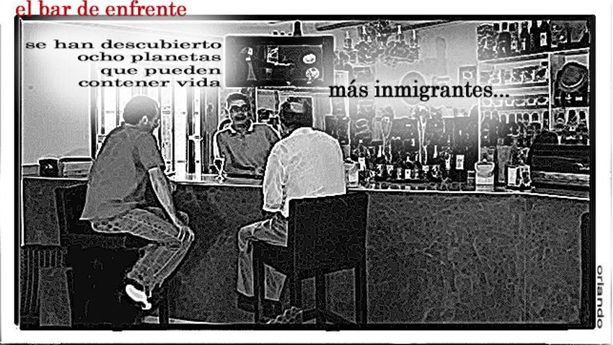 El bar de enfrente