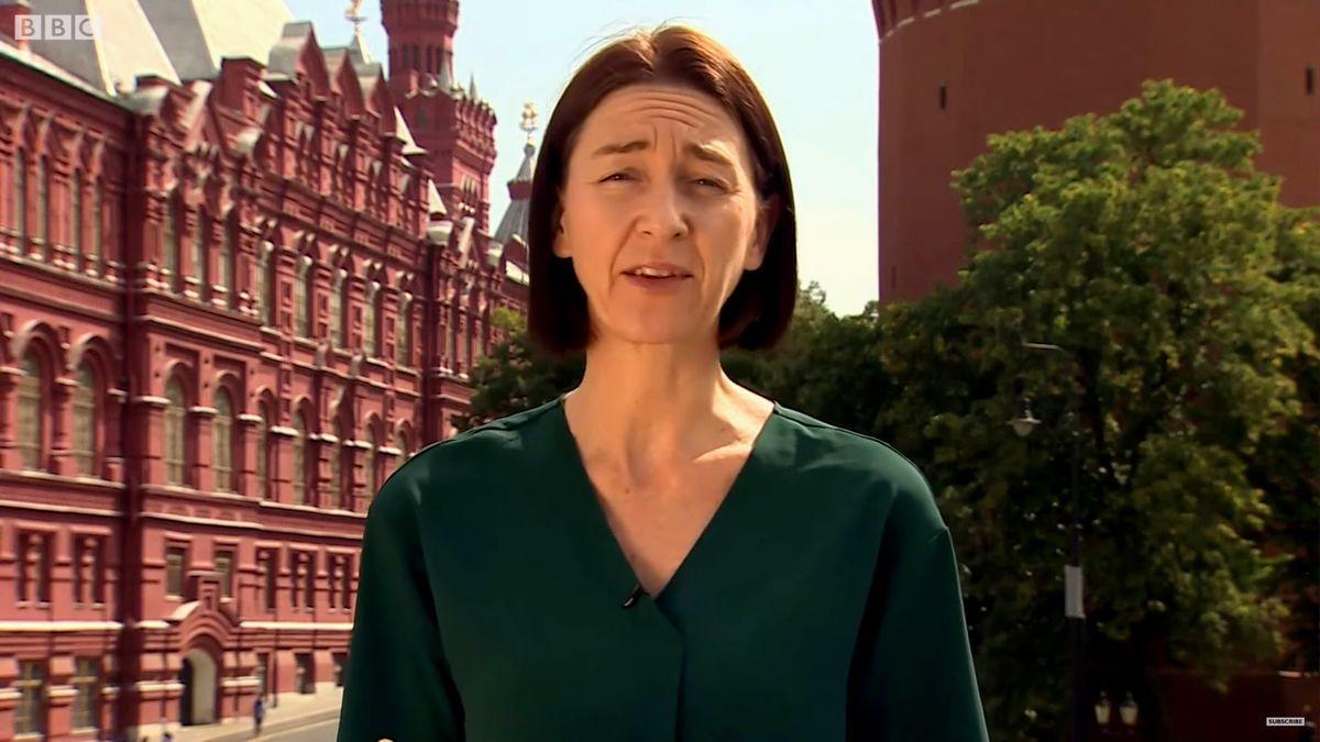 Sarah Rainsford en la BBC