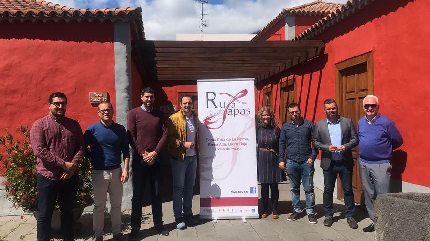 Acto celebrado este miércoles en Breña Alta.