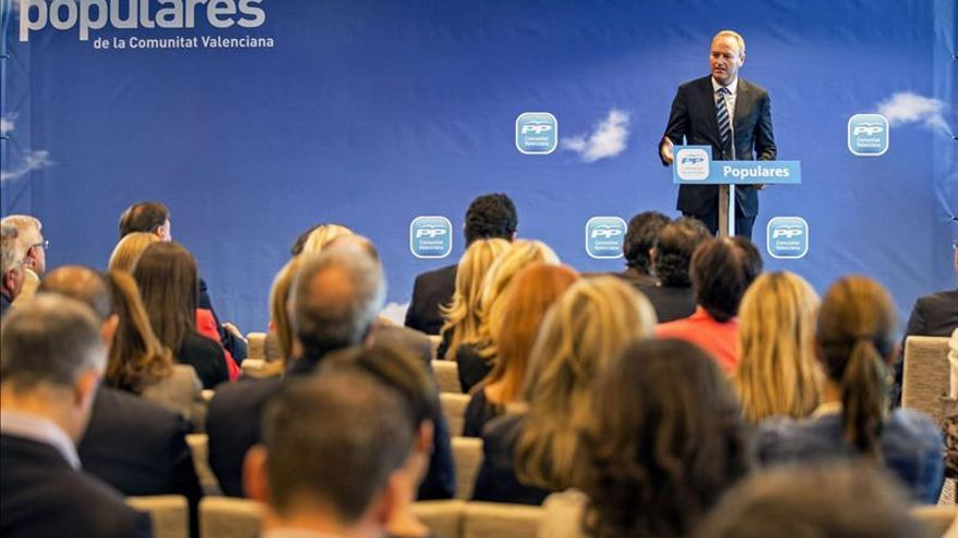 Alberto Fabra encabezará la candidatura del PP valenciano en las autonómicas