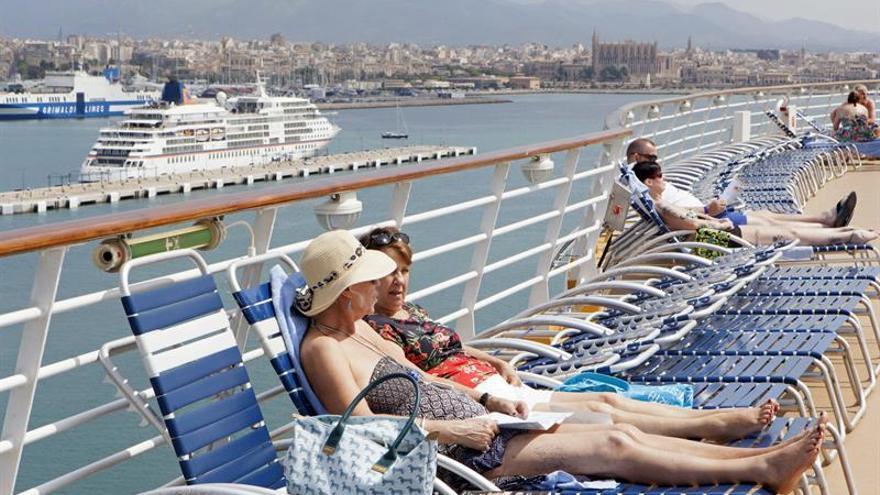 Los cruceros dejaron en España 1.323 millones de euros en 2015, un 9,5 por ciento más