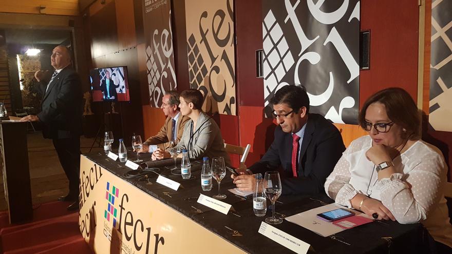 Carlos Martín interviene en la Asamblea Electoral de FECIR