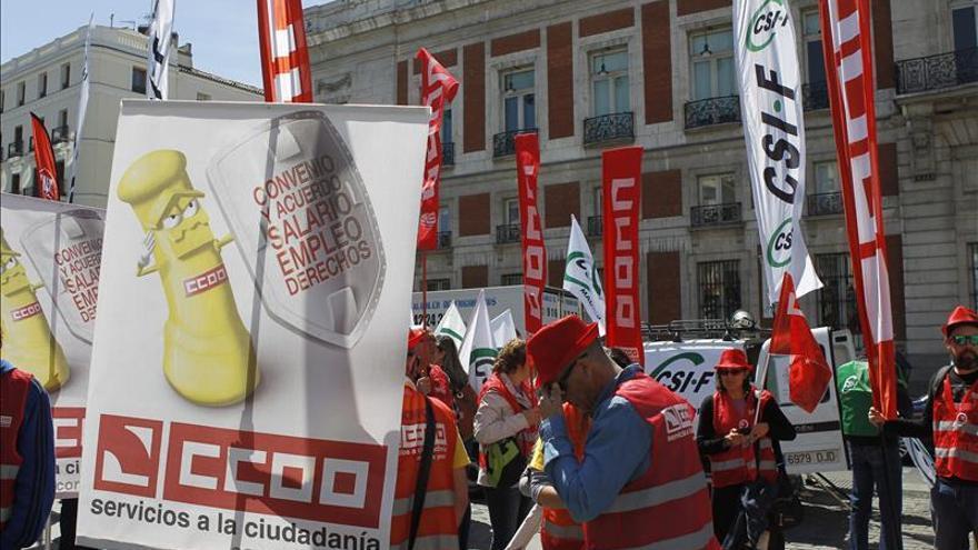 Las horas de trabajo perdidas por las huelgas subieron el 7 % hasta agosto, según la CEOE