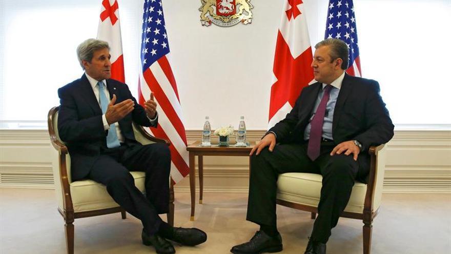 Kerry: Conflictos de Ucrania y Siria frenan el ingreso de Georgia en la OTAN