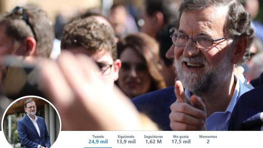 Fondo de pantalla del perfil de Mariano Rajoy en Twitter