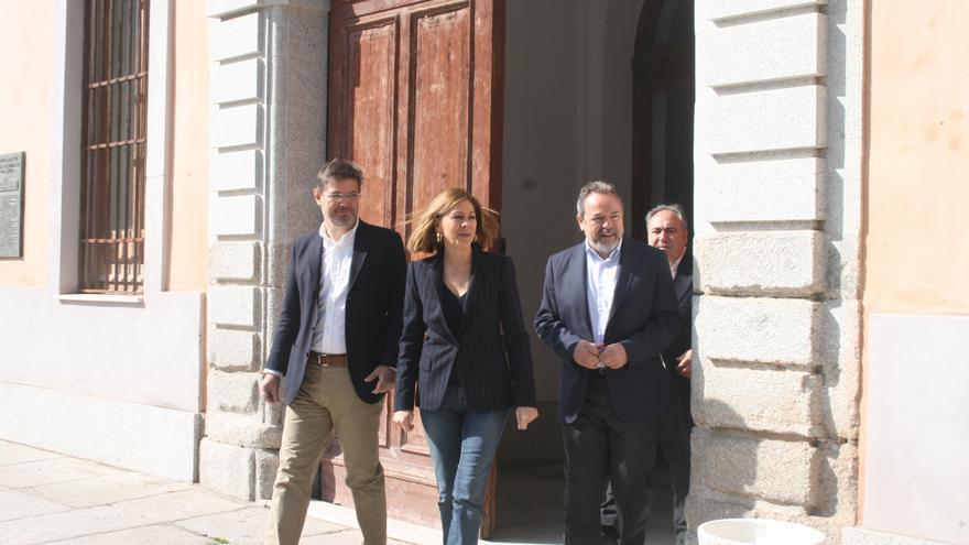 María Dolores de Cospedal, Rafael Català y Jesús Labrador en Toledo