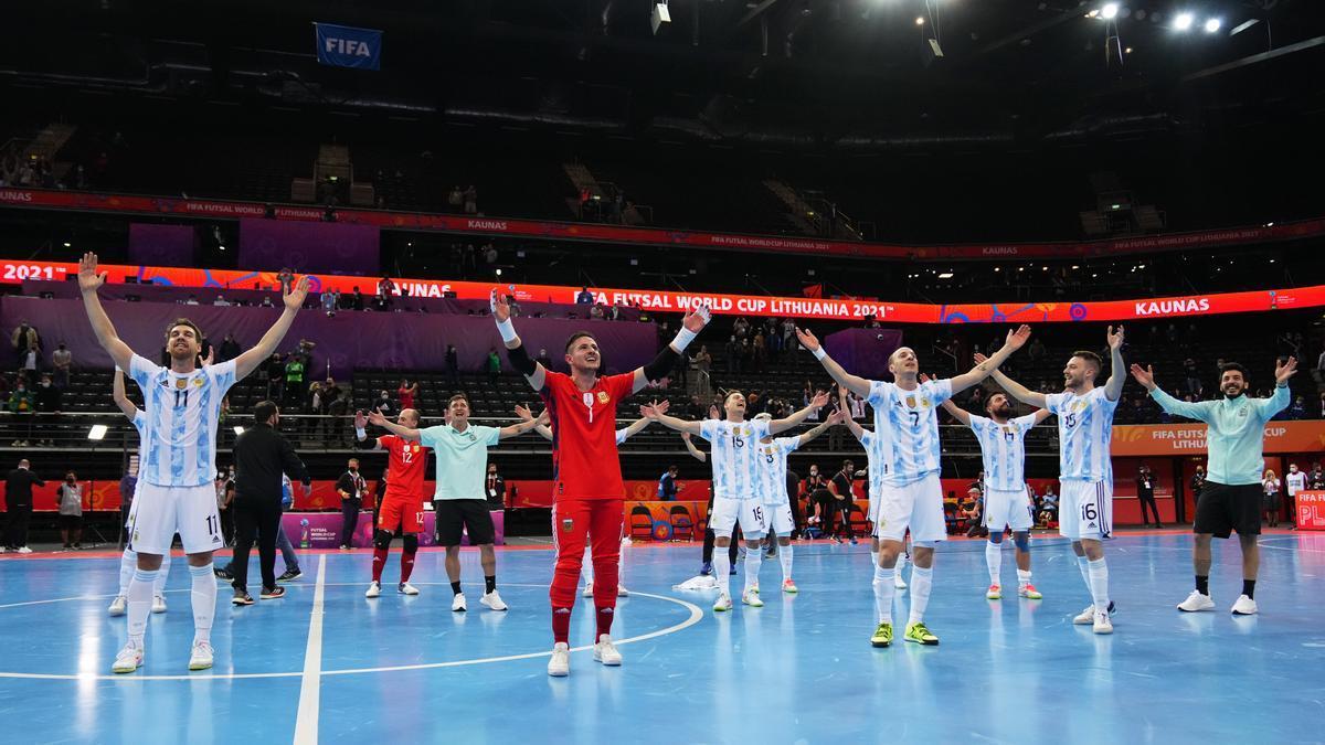 Argentina estuvo a un paso de su segundo título en el Mundial de Futsal frente a Portugal