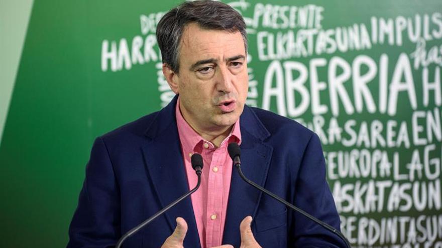 Esteban llama a votar al PNV para que aumente el autogobierno