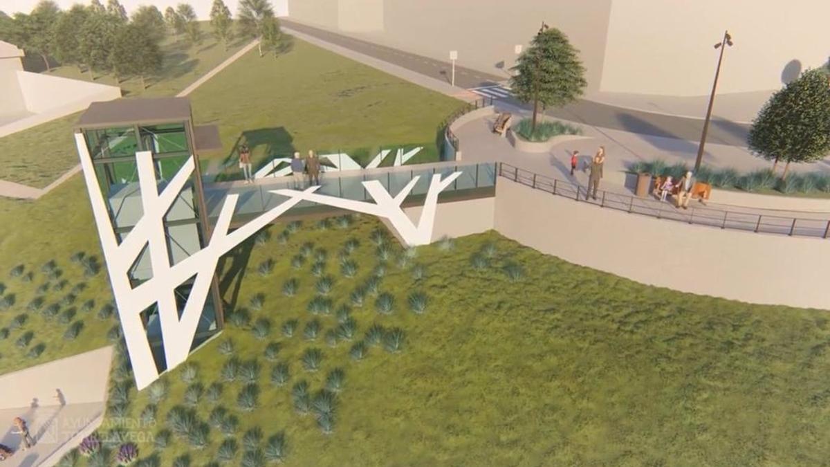 Proyecto del ascensor de Nueva Ciudad