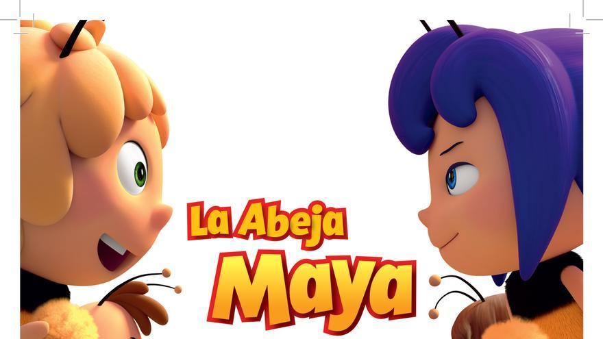 Poster 'La abeja Maya: Los juegos de la miel'