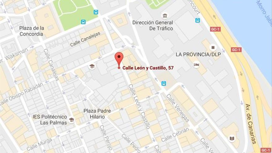 Dirección de Canarias Cultura en Red en Las Palmas de Gran Canaria.