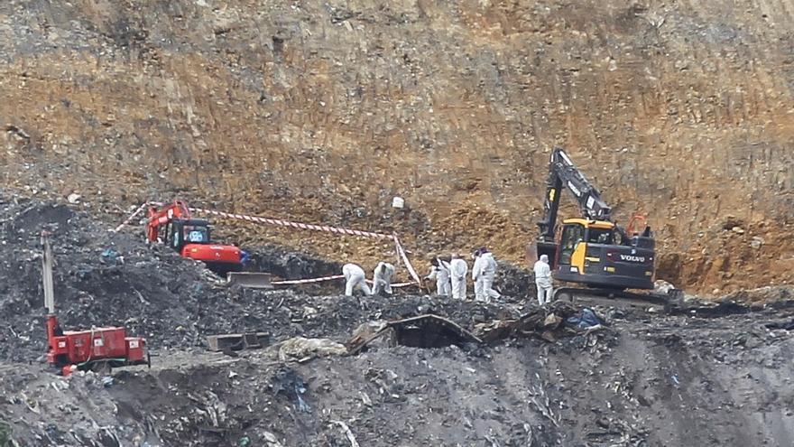Hallan objetos personales junto al cadáver de un desaparecido en Zaldibar