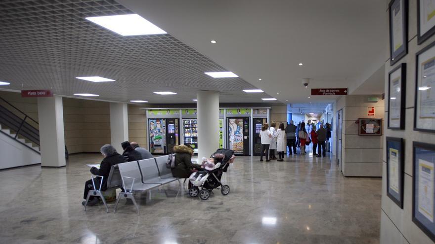Dependencias del hospital de Alzira