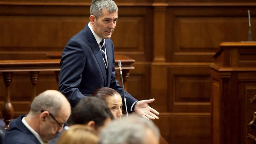 Clavijo: CC apuesta por la estabilidad, los ciudadanos quieren un gobierno
