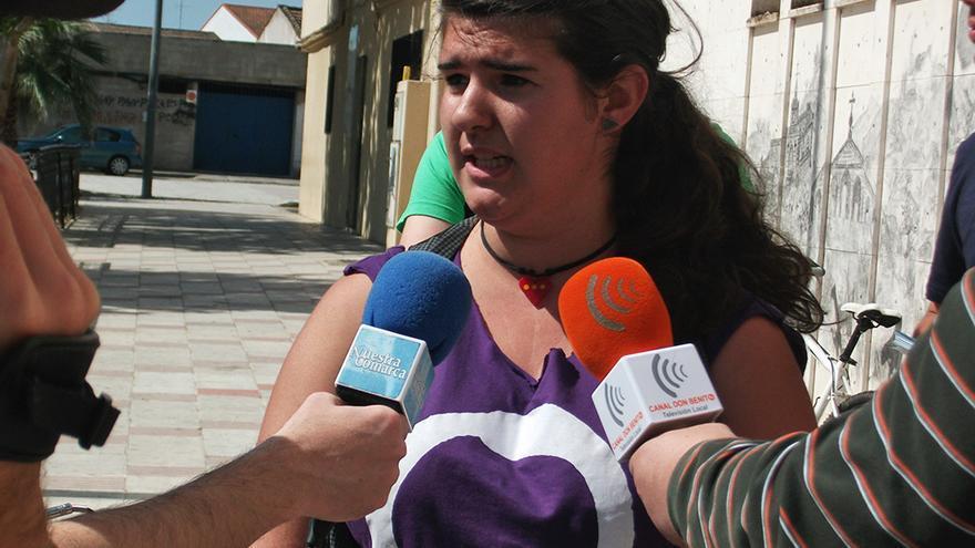 Carmen Romero, una de las voces líderes de Podemos Extremadura