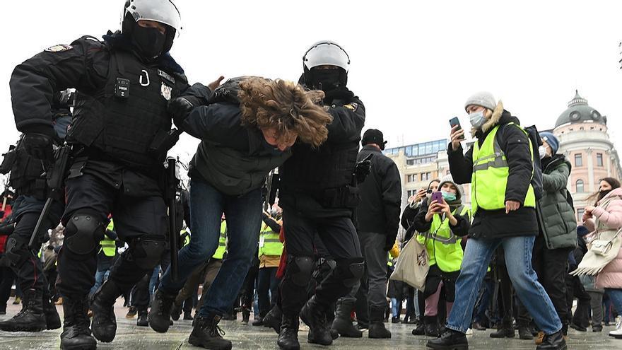 Nuevas protestas en Rusia en reclamo de la liberación de Navalny y miles de detenidos