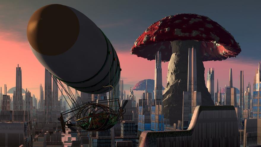 Máquinas en una sociedad deshumanizada, división de átomos... La ciencia ficción tiene una historia de más de cien años en España (Imagen: Pixabay)