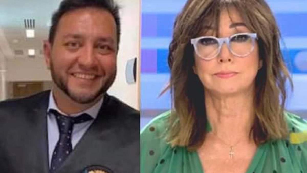 David Jiménez Castro y Ana Rosa Quintana.