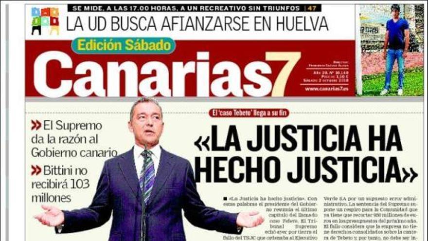 De las portadas del día (02/10/2010) #2