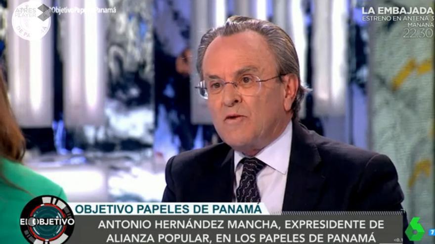 Antonio Hernández Mancha en el programa de La Sexta