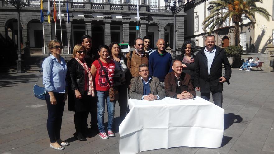 Presentación de candidatos de Las Palmas de Gran Canaria Puede