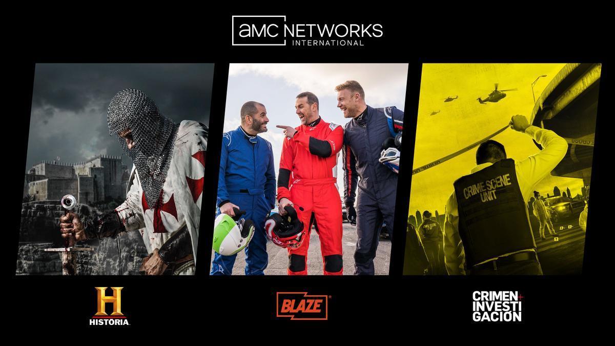 AMC Networks se hace con Historia, Blaze y Crimen + Investigación