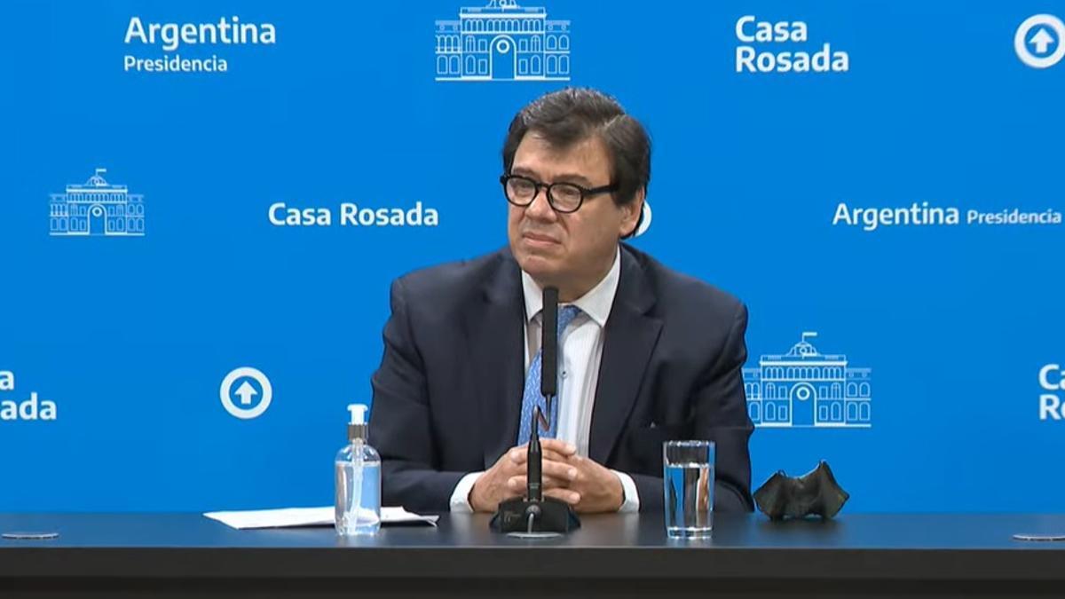 Claudio Moroni dio precisiones sobre las modificaciones en Ganancias.