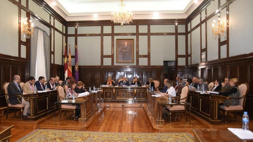 Salón de plenos de la Diputación de Guadalajara